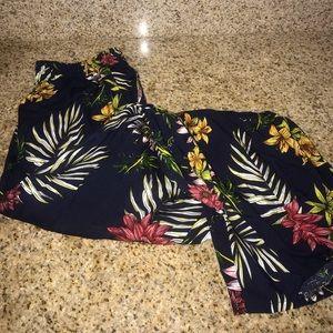 Pants - floral print pant